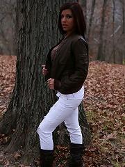 Briana Lee Fall Strip