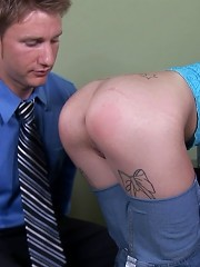 Intense anal pounding right in the psychologists office